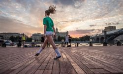 July, 8, 2015: Irish Dancing at Gorky Park