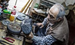 April 30, 2015: Shoe Repair Shop in Batumi