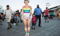 Aug 14, 2016: Colorful Girl at Coney Island