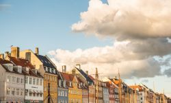 May 30, 2015: NyHavn District in Copenhagen