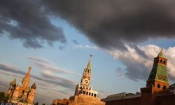 July 15, 2015: Red Square at Sunset