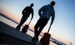 July 16, 2015: Music and Sunset over the Volga