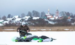 Winter Wakeboarding in Russia