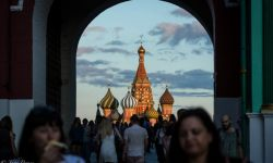 August 5, 2015: Sunset at Red Square