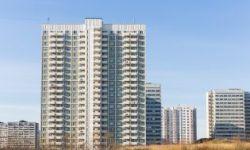 Moscow University Dormitory Facade