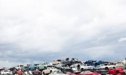 May 17, 2015: Scrap Car Lot in Iowa