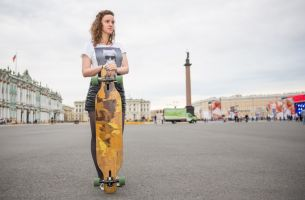 Russian Female Skateboarders