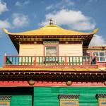 The Choyryn temple.