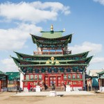 The Etigel Khambin temple is modest compared to ones in Asia and in Kalmykia, Russia.