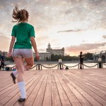 Irish Dancing has become more popular over the past decade in Moscow.