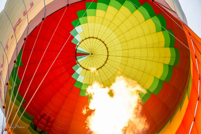 Aeronavt says this 8,500 sqm balloon is the largest passenger hot air balloon in Russia.