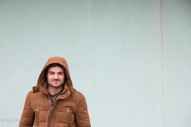 A young Moldovan in Tiraspol. He hoped to move to Moscow, where his brother works.
