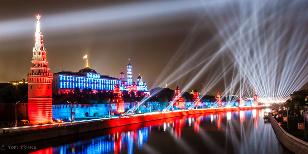 Kremlin in Colors on Victory Day