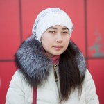 A girl from Sakhalin.