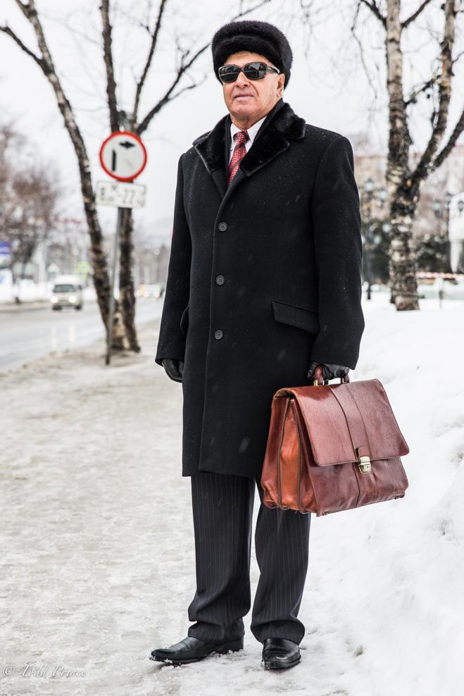 A career oilman on Sakhalin.