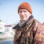 This retired construction worker has lived on Sakhalin for nearly 60 years. He loves spending his time fishing.