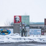 One can still find some Soviet-era signs on Sakhalin.
