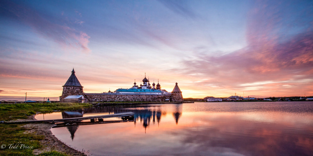 Solovki Monastery at 1am.