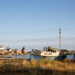 The old boats on Solovki make for great photo subjects.