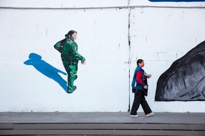 Russian Street Art Festival in St. Petersburg