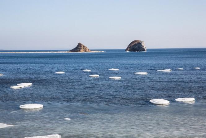 The landscape off Vladivostok